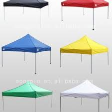 Canopy For Backyard by Decor Green 10x10 Pop Up Canopy Tent Aluminum Frame Finish For