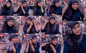 tutorial jilbab ala ivan gunawan tutorial hijab segi empat versi ivan gunawan terbaru 2018 simple 100