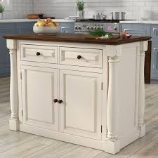 amazon com ehemco kitchen island cart natural wood top with