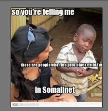 Skeptical Kid Meme - skeptical african kid the most popular kid on the net somalinet