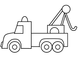 the stylish and gorgeous tow truck coloring pages regarding