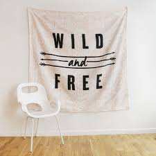 Home Decor Tapestry Wild And Free Tapestry Tapestries Wall Decor Dream Home