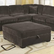oversized fabric chair with ottoman charcoal color oversized storage ottoman by coaster furniture 500754