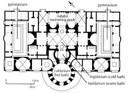 baths of caracalla floor plan plan of baths of caracalla pompeii from rome in a day by train a