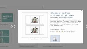 House Beautiful Change Of Address by Awesome Avery 4 6 Postcard Template Pikpaknews