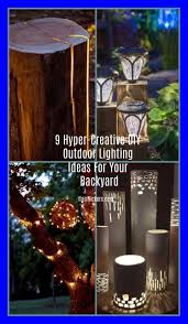 diy outdoor lighting without electricity the best outdoor wedding lighting without electricity designs for