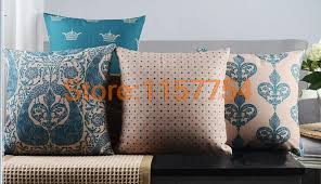 compare prices on peacock blue throw pillow cases online shopping