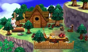 Happy Home Designer Villager Furniture A House In The Forest Animal Crossing Happy Home Designer