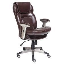 serta bonded leather ergo executive office chair black hayneedle