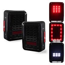 jeep jk led tail light bulb g2 red led turn signal tail light for wrangler jk jku