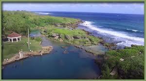Natural Pools by Inarajan Natural Pools Guam From Phantom 3 Drone Youtube