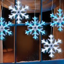 philips 5ct led 8 hanging snowflake icicle light string