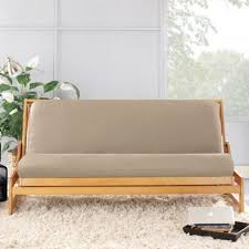 sure fit canvas full futon cover walmart com