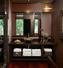 Powder Room Faucets Grass Cloth With No Seams Powder Room Contemporary With Mosaic