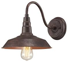 Wall Sconces Bronze Urban Lodge 1 Light Sconce Farmhouse Wall Sconces By
