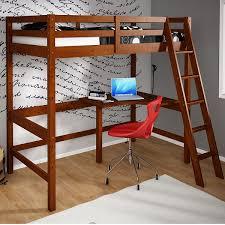 wood loft beds with desk sleep u0026 study loft beds