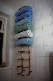 Towel Storage For Bathroom by Best 25 Towel Racks For Bathroom Ideas On Pinterest Towel Rod