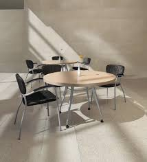 used round office table your employees would love to take a load off in this beautiful