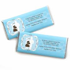 baby shower hershey bar wrappers part 40 blue paris baby candy