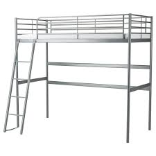 Twin Metal Loft Bed With Desk Svärta Loft Bed Frame Ikea