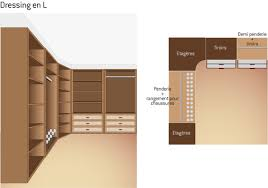 exemple dressing chambre plan de dressing conseils et exemples ooreka