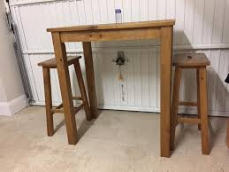 Breakfast Bar Table And Stools Next Hartford Solid Wood Breakfast Bar Table And 2 Stools In