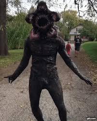 Crazy Halloween Costume Terrifyingly Realistic Stranger Demogorgon Halloween Costume