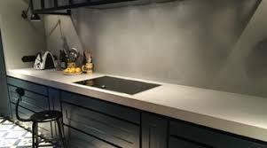 plan pour cuisine plan de travail en béton ciré pour cuisine 71 couleurs dispo
