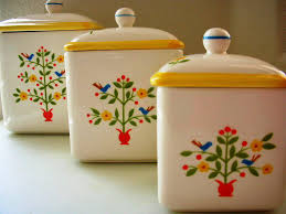 Canister Sets For Kitchen Ceramic Kitchen Canisters Set Vintage Kitchen Canister Sets Ideas
