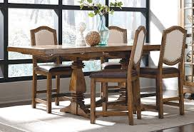 Dining Room Set With Upholstered Chairs by American Attitude X Pattern Counter Dining Set W Upholstered