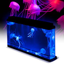 jelly fish tank mood light lamp jellyfish tank novelty jellyfish
