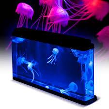 jelly fish tank mood light lamp jellyfish tank novelty jellyfish