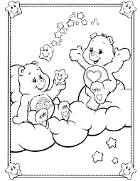 77 coloring care bears images care bears