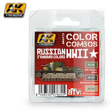 ak4173 russian wwii standard colors combo catálogo real