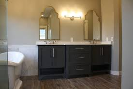Custom Bathroom Ideas by Bathroom Vanity Storage Bathroom Vanity With Custom Shelves Tsc