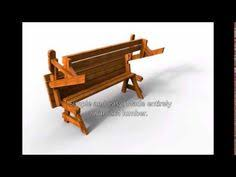 Fine Woodworking Index Pdf by 24 001 Folding Bench And Picnic Table Combo Pdf Woodworking