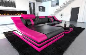 pink leather sectional sofa luxury home interiors with pink leather sectional sofa and modern