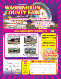 Ohio State Fair Map by Fair Information August 2 6 2017 Washington County Ag Society
