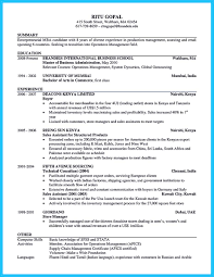 Best Business Resume Format by Special Guides For Those Really Desire Best Business Resume
