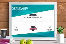 certificate template vol 10 stationery templates creative