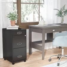 Desk With File Cabinet Desk File Cabinet Wayfair