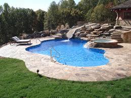 Mountain Lake Pool Design by Vinyl Pool Installation Vinyl Swimming Pools Pinterest Pool