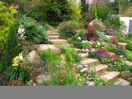 impressive design rock wall garden designs awesome landscape