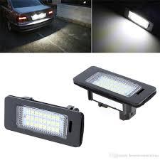 error free car led license plate led light lamp 12v white 6000k