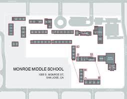san jose school map cus map middle school
