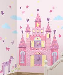 Remove Wall Stickers Lot 26 Studio Purple Princess Castle Wall Decal Set Zulily
