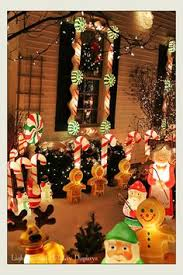 Outdoor Candy Cane Lights by Images Holiday Lights In The Suburbs 2012 Candy Canes