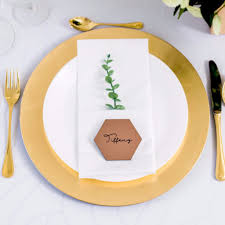 Place Cards Wedding Copper Wedding Place Cards U2013 Z Create Design