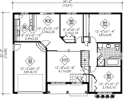 ranch style house plan 3 beds 1 00 baths 1113 sq ft plan 25 1050