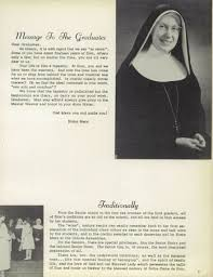 find a yearbook from your class explore 1958 notre dame de sion high school yearbook kansas city